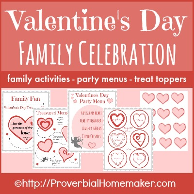 Free Valentine S Day Family Fun Printable Pack Champagne Style