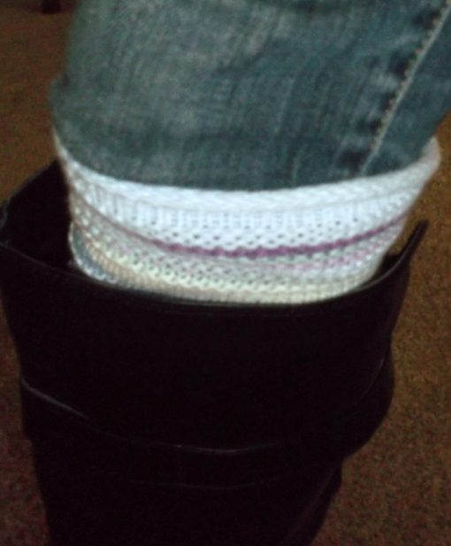 Up Close Sweater Boot Cuffs