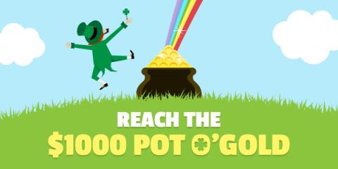 Swagbucks Helps to Fill Your Pot O' Gold