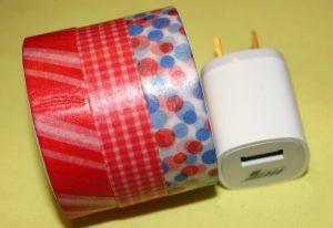 The Ultimate Cheat Sheet on Making Over a Phone Charger Using Washi Tape