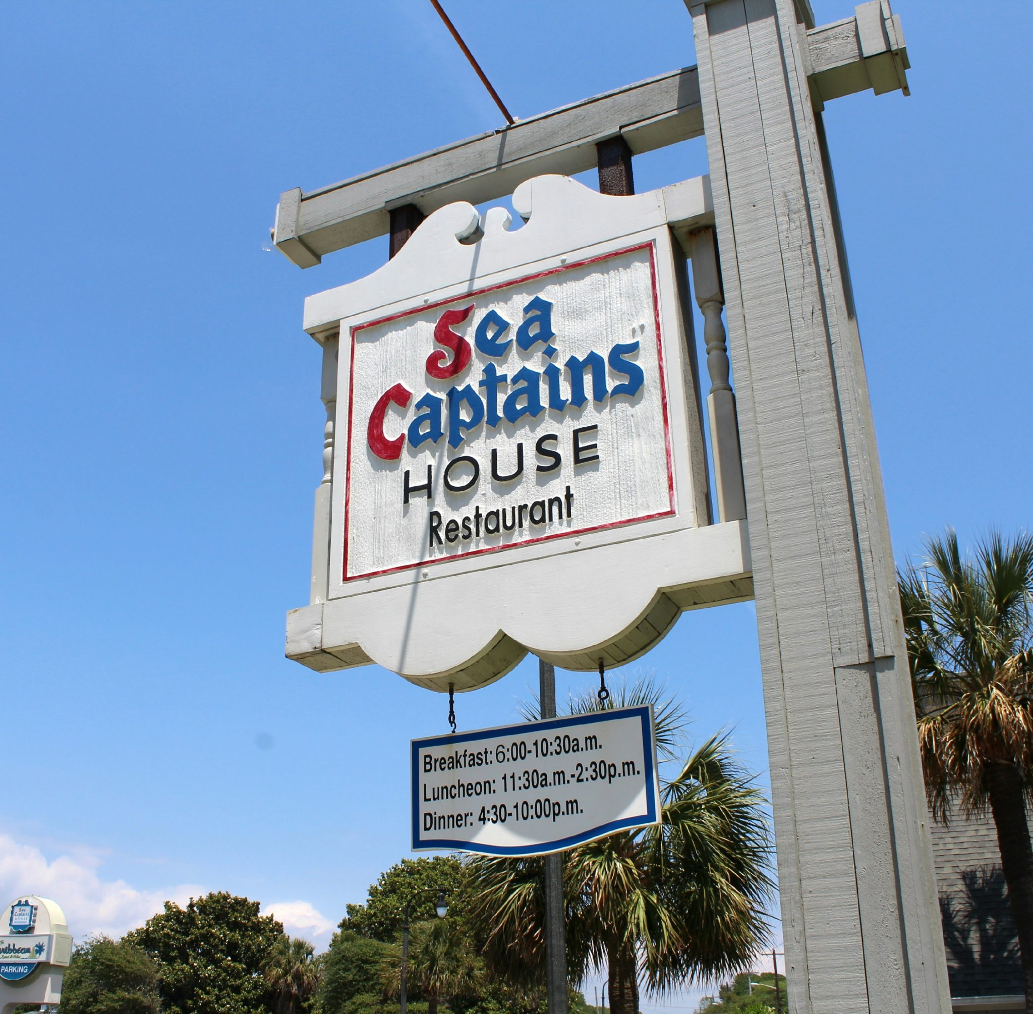 sea captains house restaurant myrtle beach