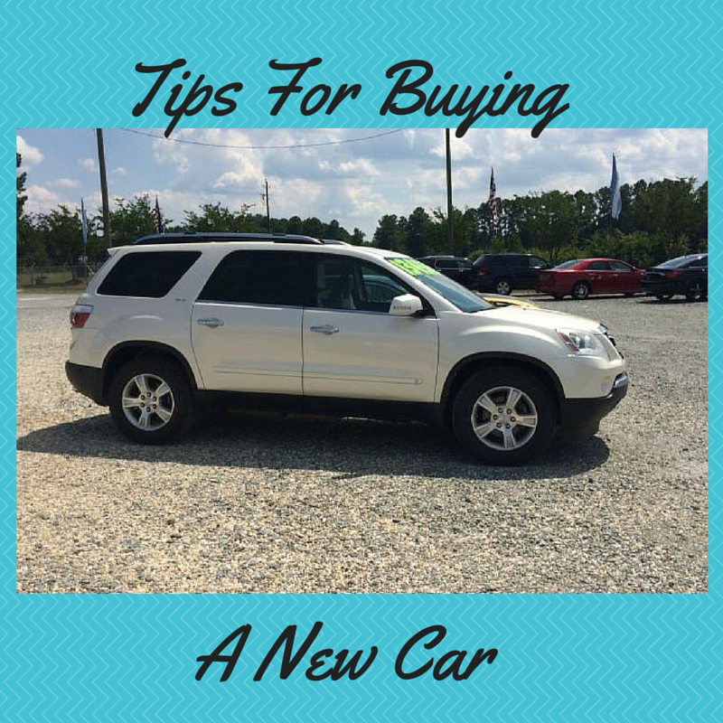 Tips on Buying A New Car