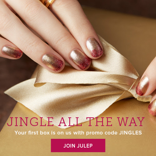 Join Julep and get the Jingle Bells Welcome box FREE