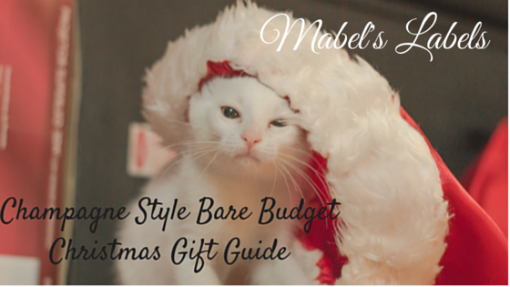 Mabel's Labels Christmas Gift Guide By North Carolina Lifestyle Blogger Champagne Style Bare Budget