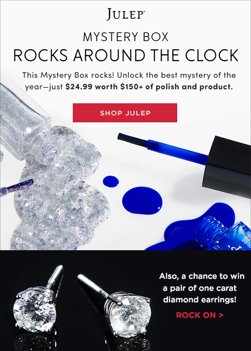 Julep Rocks Around the Clock Mystery Box