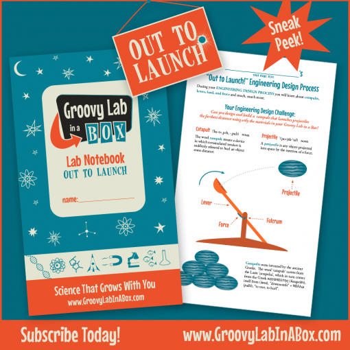 What Is This Month's Theme For Groovy Lab in a Box?