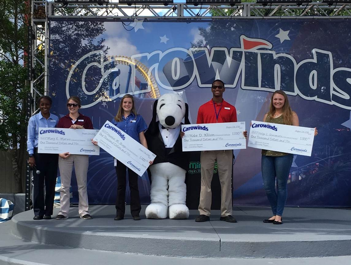 Carowinds Awards Scholarships to Associates