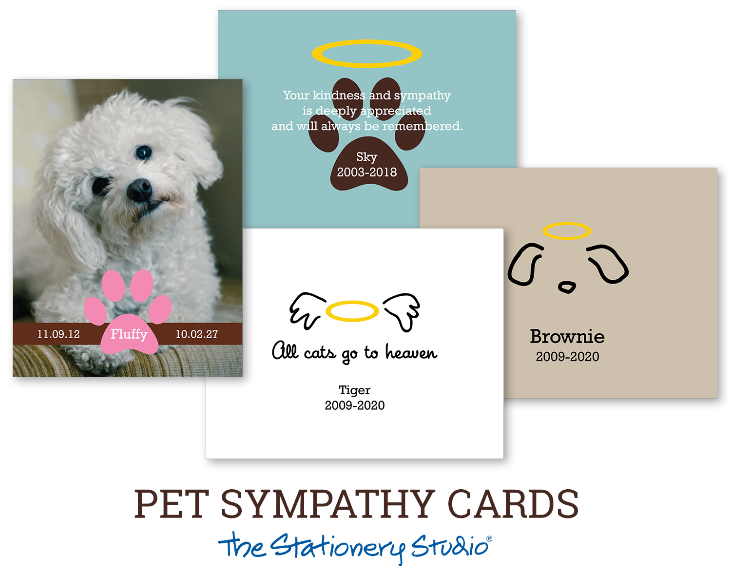 New Pet Sympathy Cards & Helpful Grieving Tips