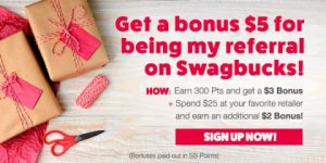 Get $5 When You Sign Up For Swagbucks in December!