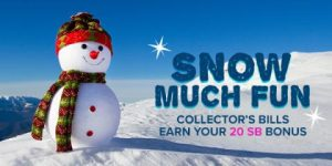 Snow Much Fun Collector's Bills