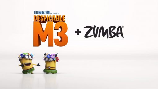 Minions Unite! Universal Pictures & Zumba Collaborate for Despicable Me 3 Video