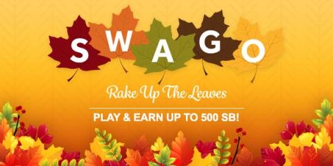 Free GC during Oct Swago with Spin & Win
