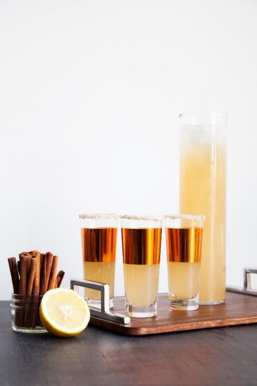 Fall Punch by North Carolina Lifestyle Blogger Champagne Style Bare Budget