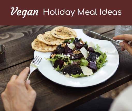 Vegan Holiday Meals from North Carolina Lifestyle Blogger Champagne Style Bare Budget