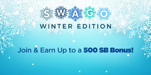 January Swago with Spin & Win from North Carolina Lifestyle Blogger Champagne Style Bare Budget