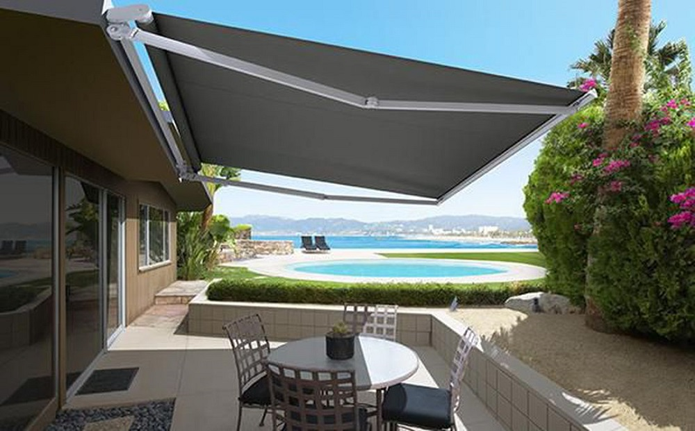 Make Your Property More Attractive with the Automatic Awnings from North Carolina Lifestyle Blogger Champagne Style Bare Budget