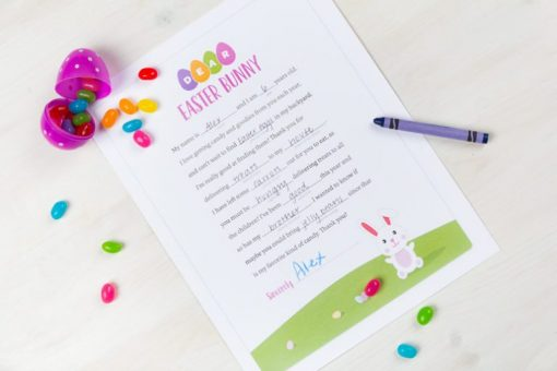 Gear up for Easter with these Fun Printables from North Carolina Lifestyle Blogger Champagne Style Bare Budget