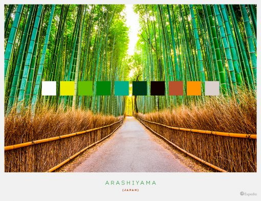 Color Palettes From The World's Most Beautiful Places