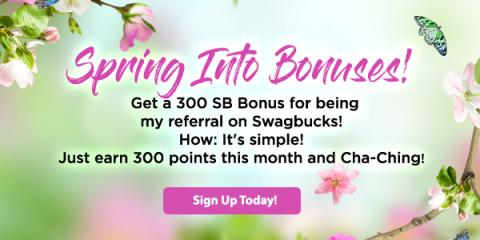 Spring into Bonuses from North Carolina Lifestyle Blogger Champagne Style Bare Budget