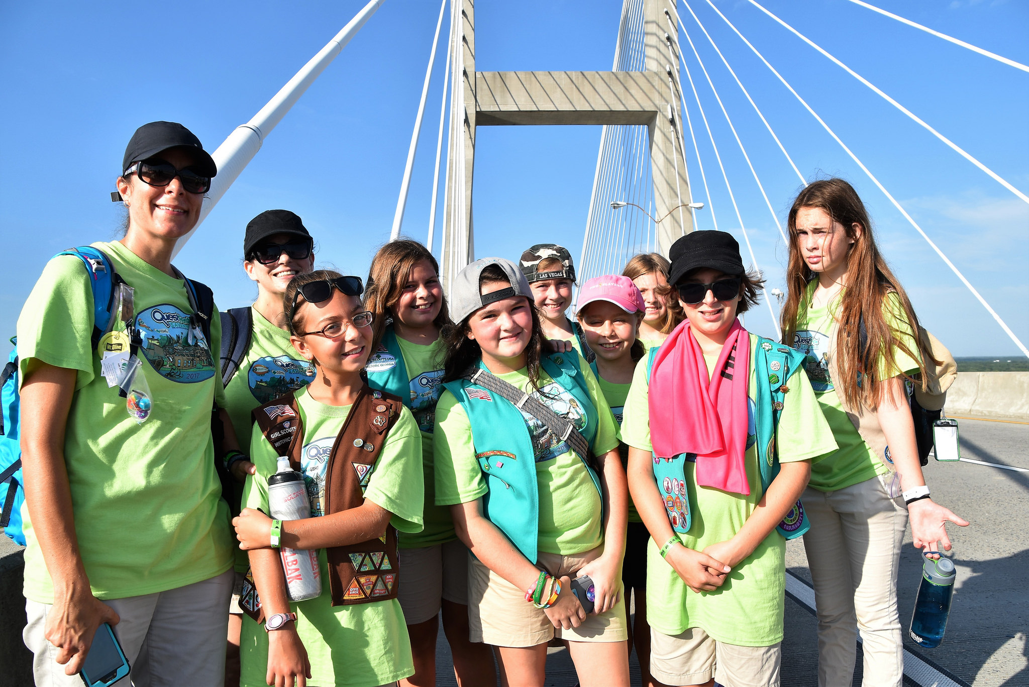 Girl Scouts QuestFest – Epic Adventure Weekend from North Carolina Lifestyle Blogger Champagne Style Bare Budget
