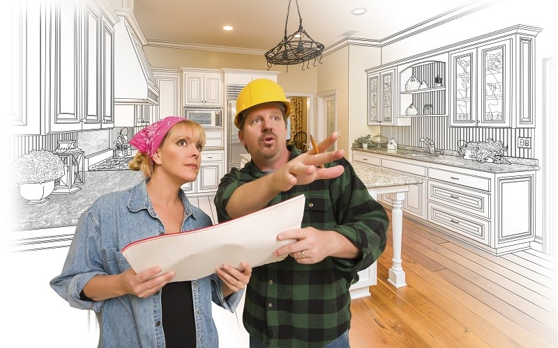 How to Hire Kitchen Designers and Cabinet Makers from North Carolina Lifestyle Blogger Champagne Style Bare Budget