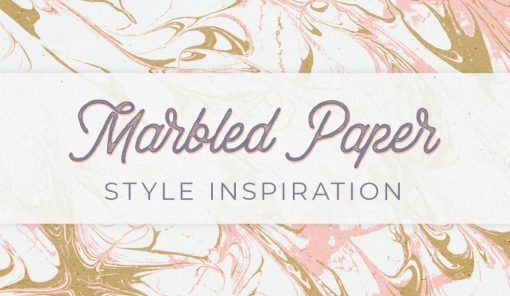 How to Marble Paper from North Carolina Lifestyle Blogger Champagne Style Bare Budget