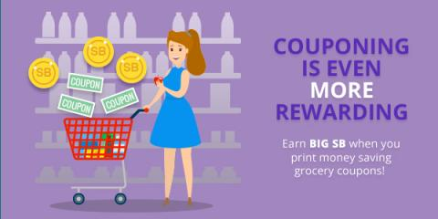 Couponing is Even More Rewarding