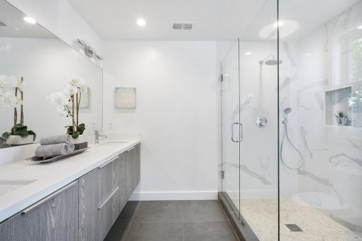 Comfort and Style Here are 5 Bathroom Upgrades that Everyone in Your Family will Enjoy from North Carolina Lifestyle Blogger Champagne Style Bare Budget