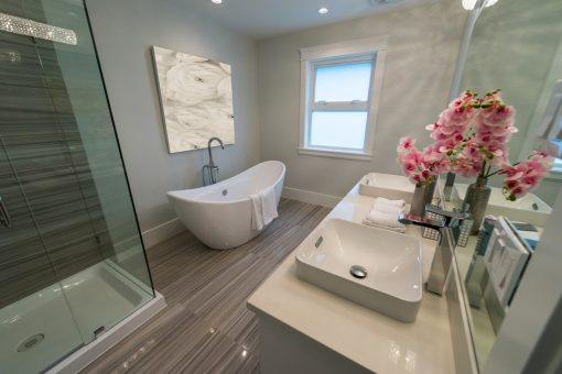 Some Common Misconceptions Associated With Bathroom Renovations from North Carolina Lifestyle Blogger Champagne Style Bare Budget