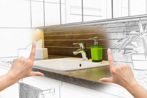Some Common Misconceptions Associated With Bathroom Renovations from North Carolina Lifestyle Blogger Champagne Style Bare Budget 2