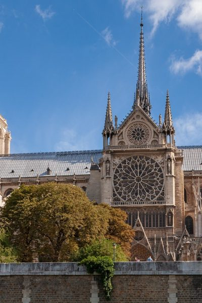 Notre-Dame Fire Restoration Fund established by French Heritage Society from North Carolina Lifestyle Blogger Champagne Style Bare Budget