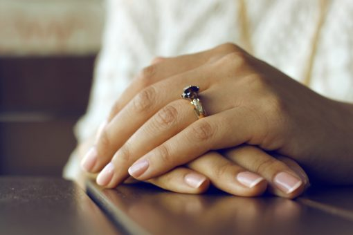 Helpful Tips to Choose the Best Promise Ring from North Carolina Lifestyle Blogger Champagne Style Bare Budget.
