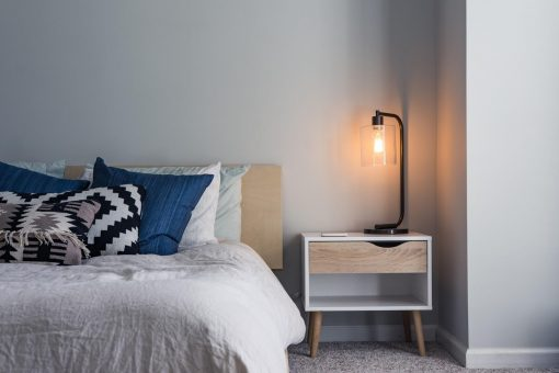 9 Style Ideas For Small Bedrooms from North Carolina Lifestyle Blogger Champagne Style Bare Budget