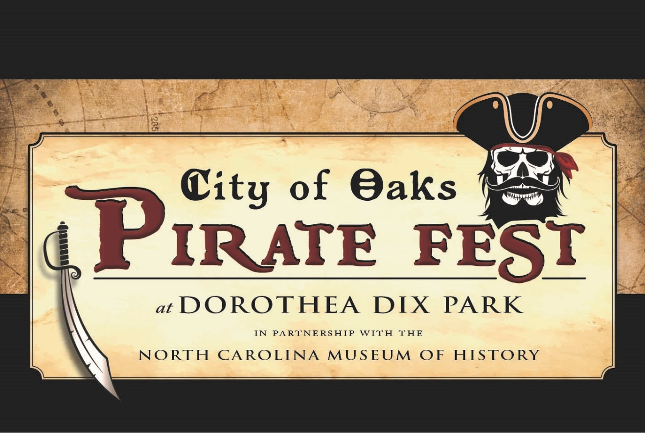 COME ABOARD FOR THE SECOND ANNUAL CITY OF OAKS PIRATE FEST from North Carolina Lifestyle Blogger Champagne Style Bare Budget