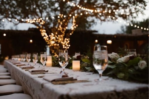 3 Things to Know for Hosting a Home Wedding from North Carolina Lifestyle Blogger Champagne Style Bare Budget