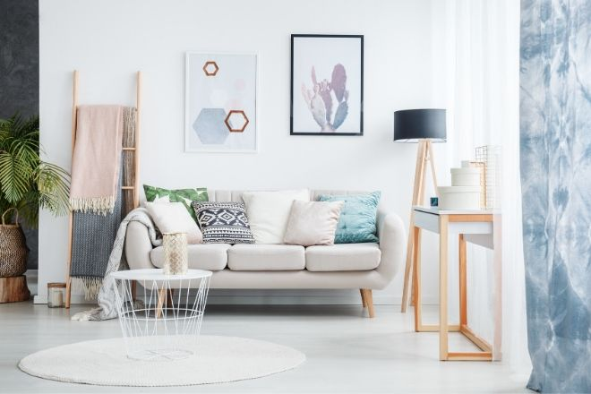 How to Make a Small Space Feel Bigger from North Carolina Lifestyle Blogger Champagne Style Bare Budget