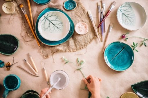 Tips for Hosting a Craft Party Night from North Carolina Lifestyle Blogger Champagne Style Bare Budget
