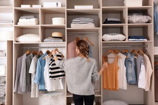 3 Tips for Starting a Budget-Friendly Wardrobe from North Carolina Lifestyle Blogger Champagne Style Bare Budget