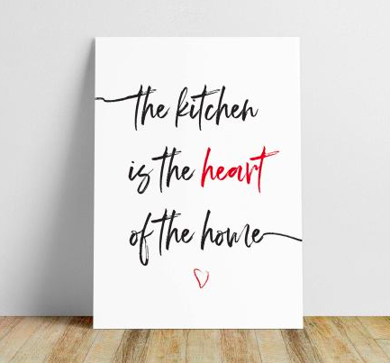 Kitchen Wall Art Free Printables. from NC Lifestyle Blogger Champagne Style Bare Budget png