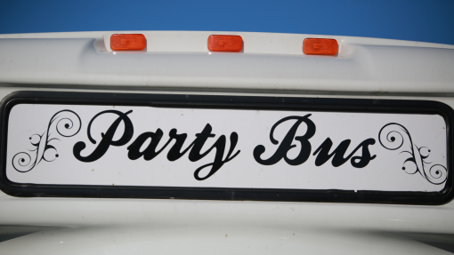 Everything You Need to Know About Hiring a Party Bus from North Carolina Lifestyle Blogger Champagne Style Bare Budget