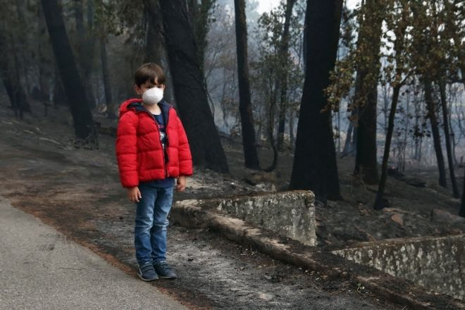 Tips for Keeping Children Safe in a Wildfire