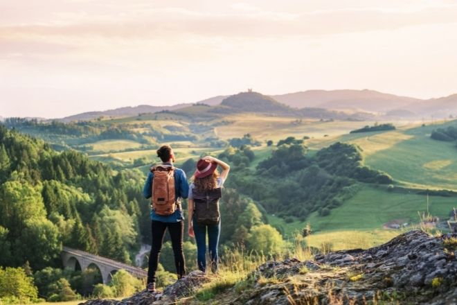 3 Reasons To Get Into Hiking This Summer from Champagne Style Bare Budget